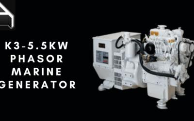 in Stock! Order The K3-5.5kw Phasor Marine Generator Here