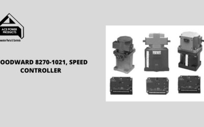 Learn About the Woodward 8270-1021, Speed Controller