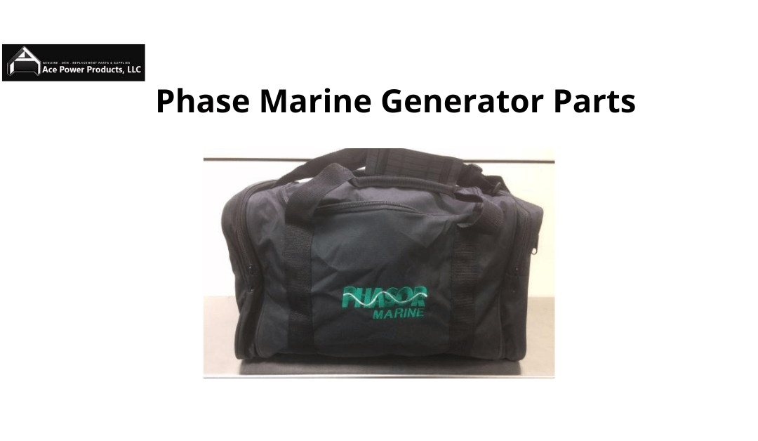 Features And Specifications: Phase Marine Generator Parts!