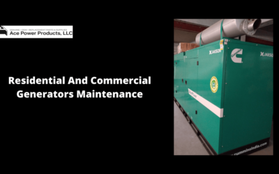 Residential And Commercial Generators Maintenance Checklist!