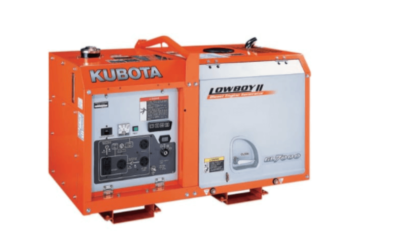 Our New Kubota Diesel Generator Comes With Perks!