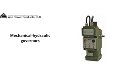What are Mechanical-hydraulic governors (Woodward governor types)?