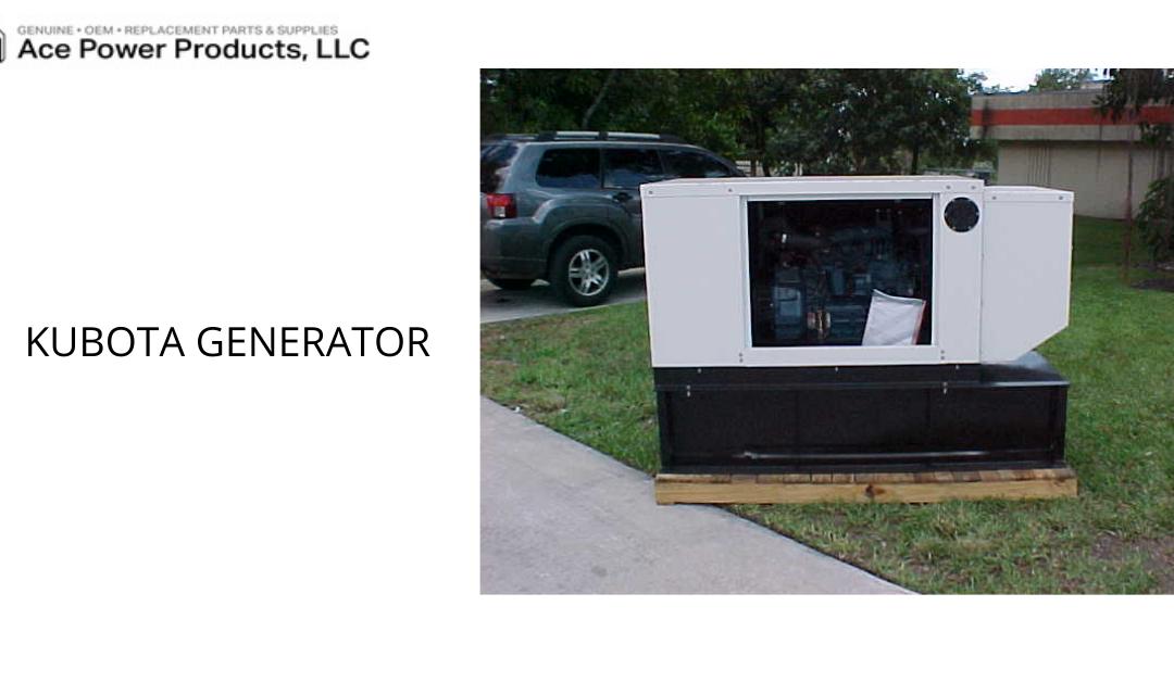 Kubota generator in Wellington FL